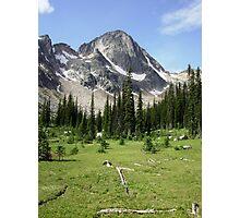 Dunn Peaks, BC Photographic Print
