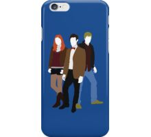Eleven, Amy and Rory - Doctor Who iPhone Case/Skin