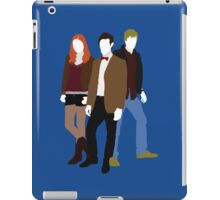 Eleven, Amy and Rory - Doctor Who iPad Case/Skin