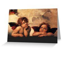Raphael - Angels Greeting Card