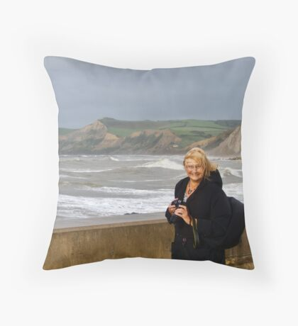 Lynn At West Bay Throw Pillow