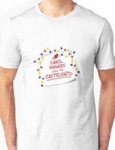 TARDIS Sign - DW Christmas Special Unisex T-Shirt