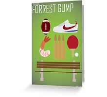 Minimalist Collection - Forrest Gump Greeting Card