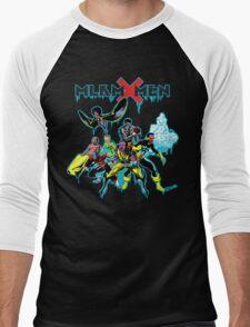 Malcolm X-Men Assemble Men's Baseball ¾ T-Shirt