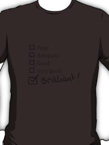 Brilliant Tick Box T-Shirt