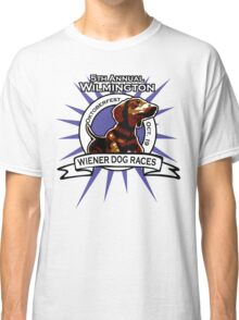 5th Annual Wilmington Wiener Dog Races Classic T-Shirt