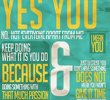 Hey you! by Rizwanb