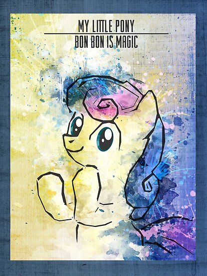Poster: Bon Bon by Han Zhao