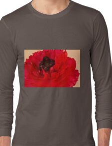 Vibrant Petals Long Sleeve T-Shirt