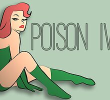 Pin Up Poison Ivy by Rizwanb