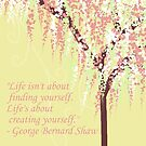 George Bernard Shaw Quote by VieiraGirl