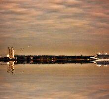 Dublin Port by AntonioSimoes