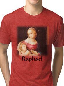 Raphael - Bridgewater Madonna Tri-blend T-Shirt