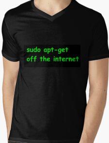 Sudo Mens V-Neck T-Shirt