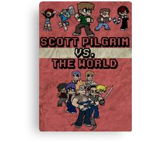 Scott Pilgrim Vs. The World Canvas Print