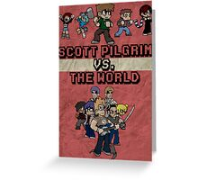 Scott Pilgrim Vs. The World Greeting Card
