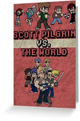Scott Pilgrim Vs. The World by Rizwanb