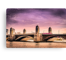 Longfellow Bridge, Boston MA Canvas Print