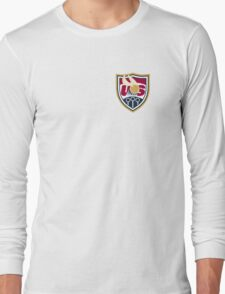 United States of America Quidditch Logo Small Long Sleeve T-Shirt