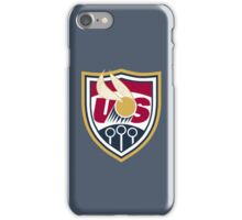 United States of America Quidditch Logo Small iPhone Case/Skin