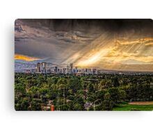Denver storm Canvas Print