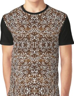 Coffee Laced Arfé Painting Graphic T-Shirt