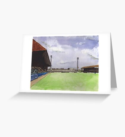 Stockport County - Edgeley Park Greeting Card