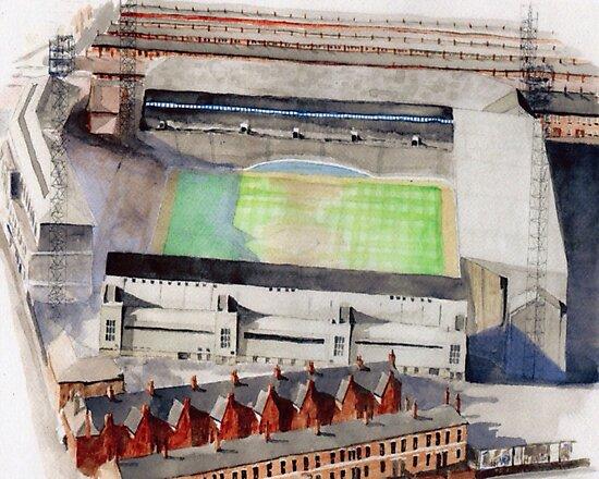 Everton - Goodison Park by sidfox