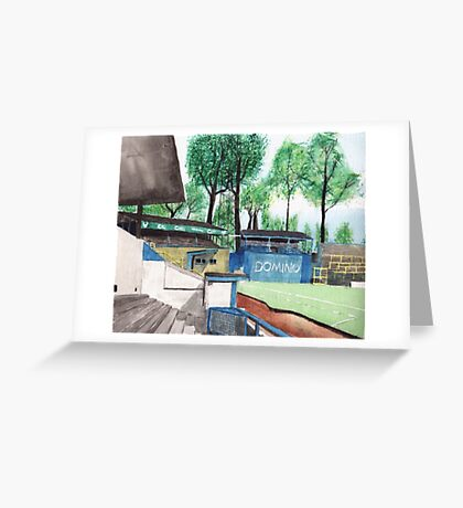 Oxford United - Manor Ground Greeting Card