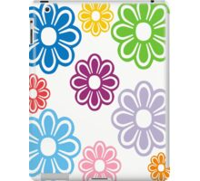 flowers in different color iPad Case/Skin