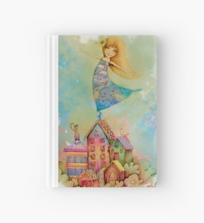 dancing on rooftops Hardcover Journal