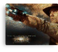Mosaic: Cowboys and Aliens Canvas Print