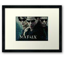 Mosaic: The Matrix Framed Print