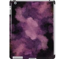 iPhone iPad Cases Violet And Black Grunge Abstract Texture iPad Case/Skin