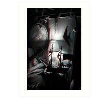 Dark Ship - 3D Art Print