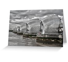 The Thames Barrier Greeting Card
