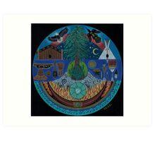 Ancient Spiritual Trade Routes  Art Print