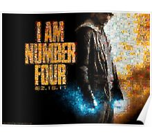 Mosaic: I Am Number 4 Poster