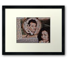 Mosaic: Groundhog Day Framed Print