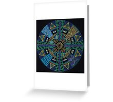 Sacred Geometry of the Council  Greeting Card