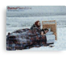 Mosaic: Eternal Sunshine of the Spotless Mind Canvas Print