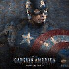 Mosaic: Captain America by Mark Chandler