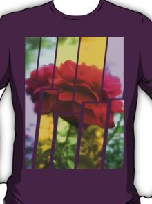 Red Rose with Light 1 Tinted 2 T-Shirt
