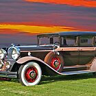 1930 Marmon 'Big Eight' 7 Passenger Sedan by DaveKoontz