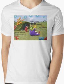 Tubbie Memers Mens V-Neck T-Shirt