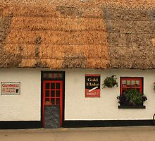 Thatched Cottage in Castlebellingham by Adrian McGlynn