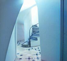 """Casa Mila"" by Antoni Gaudi by Angelika  Vogel"