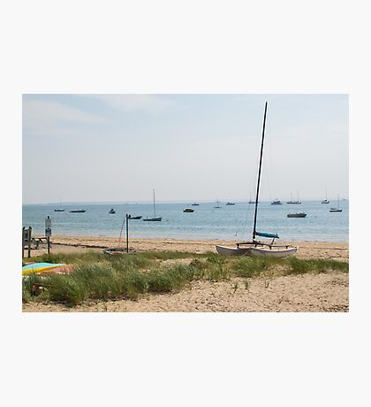 Sail P-town Photographic Print