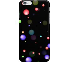 many colored dots iPhone Case/Skin