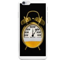 ☝ ☞ ITS NOW -TIME FOR A BEER - WITH- BEER OCLOCK IPHONE CASE ☝ ☞ iPhone Case/Skin